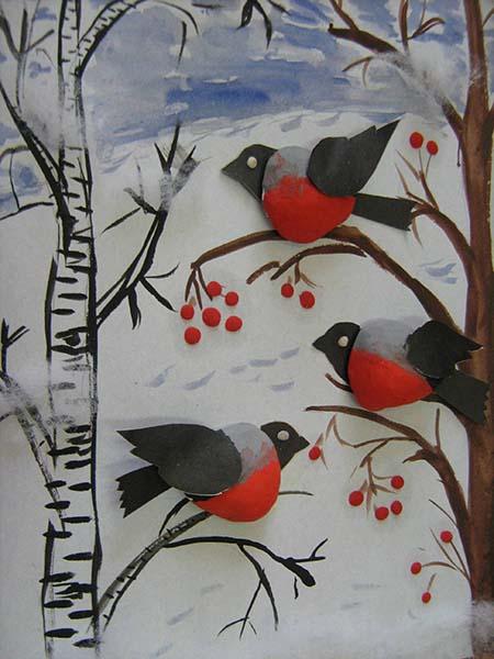 Поделки с перелетными птицами
